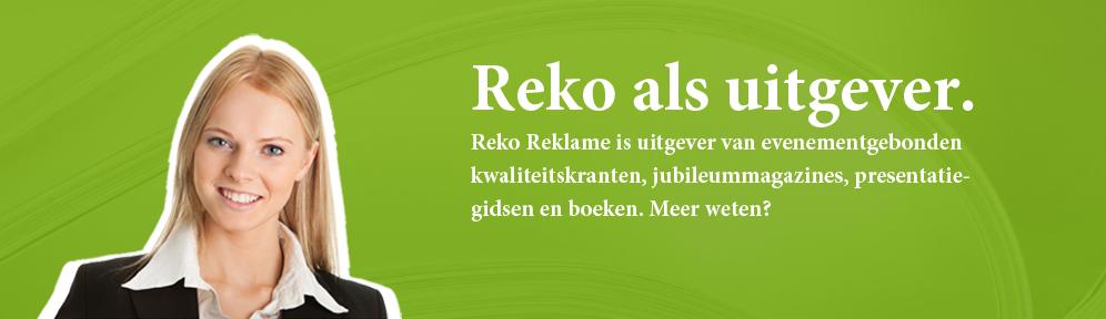Reko als uitgever